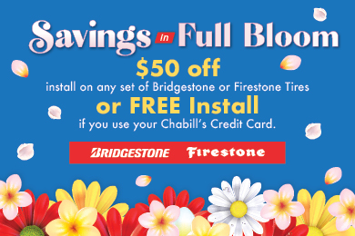 Spring Installation Savings
